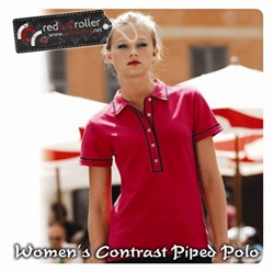Picture of Women's Contrast Piped Polo