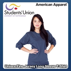 Picture of Unisex Fine Jersey Long Sleeve T-Shirt