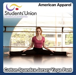 Picture of Cotton Spandex Jersey Yoga Pant
