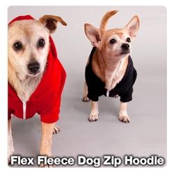 Picture of Flex Fleece Dog Zip Hoodie