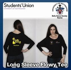 Picture of Belly Dancing Soc Long Sleeve Flowy Tee