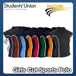 Picture of Girls Cut Sports Polo