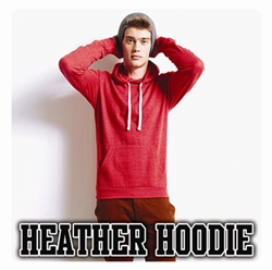Picture of JH008 Heather Hoodie