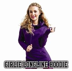 Picture of JH005 - Girlie Longline Hoodie