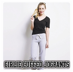 Picture of Girlie Cuffed Jogpants