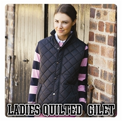 Picture of Ladies Quilted Gilet
