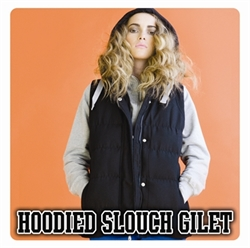 Picture of Hoodied Slouch Gilet