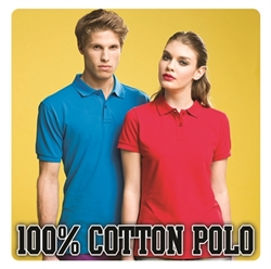 Picture of 100% Cotton Polo