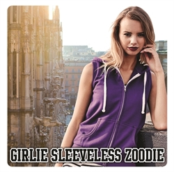 Picture of JH57F Girlie sleeveless zoodie