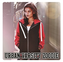Picture of JH051 Urban varsity zoodie