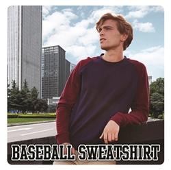 Picture of JH033 Baseball sweatshirt