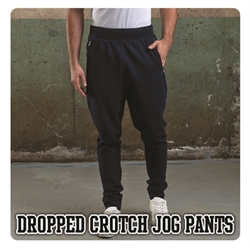 Picture of JH073 Dropped crotch jog pants