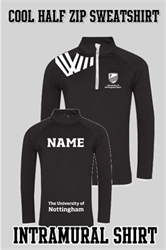 Picture of Intra Mural Cool Half Zip Sweat Top